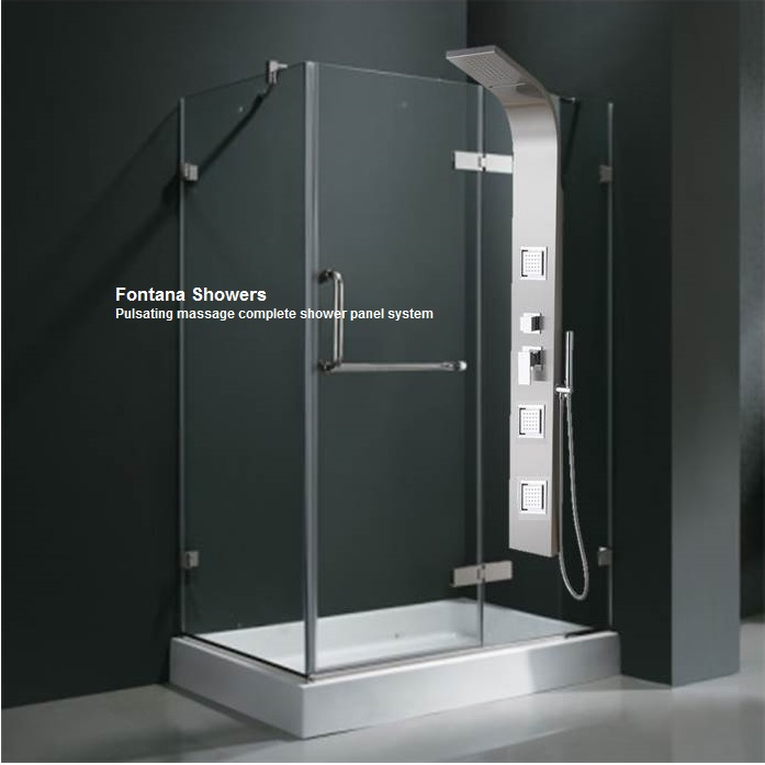 Fontana Shower Massage Shower Panel Installation Instructions