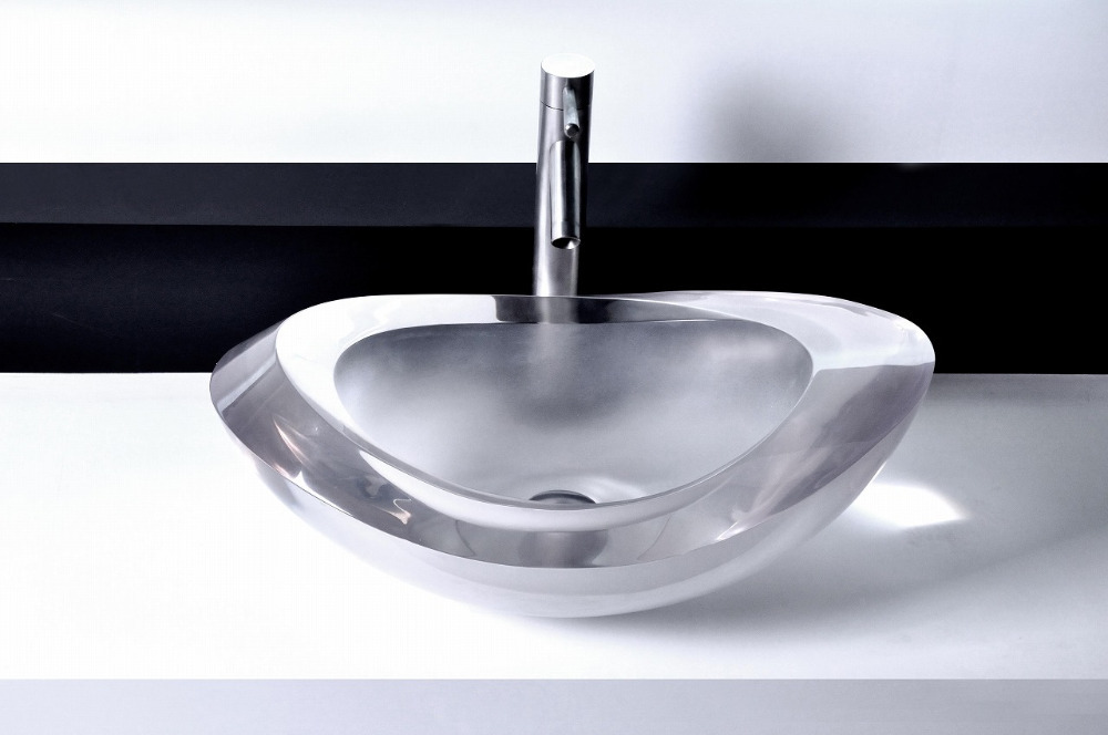 Lima oval resin counter top sink colorful wash basin cupc for Bathroom wash basin counter designs