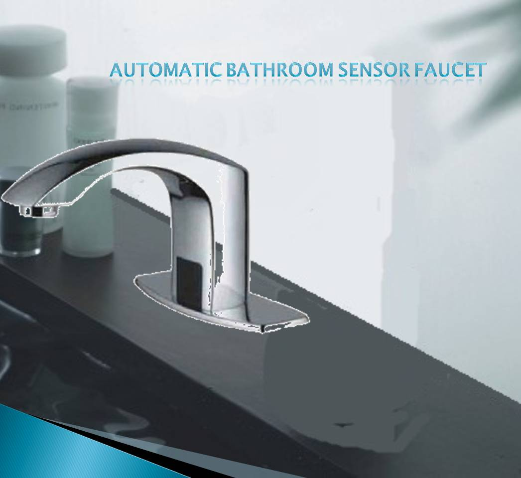 Fontana Automatic Hands Free Faucet D517 Chrome Finish (also ...