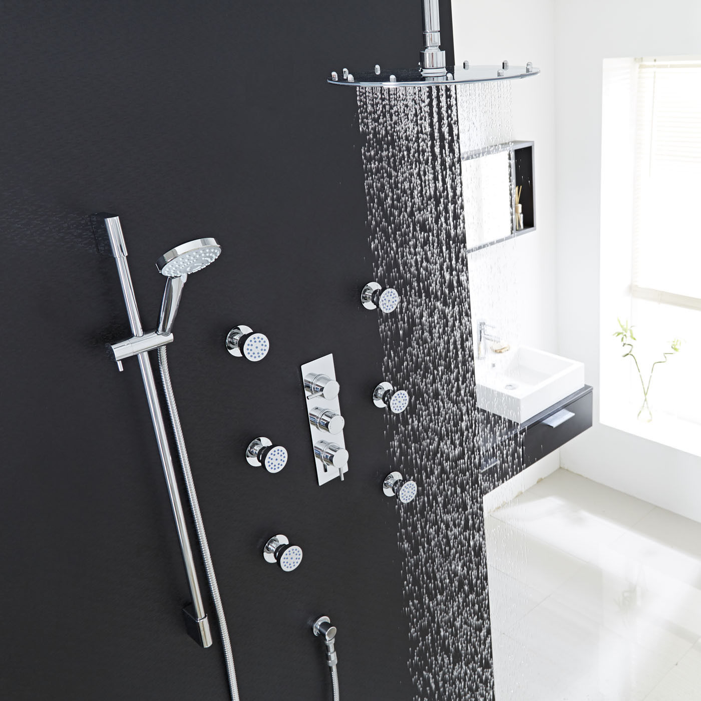 Rain Shower Head System