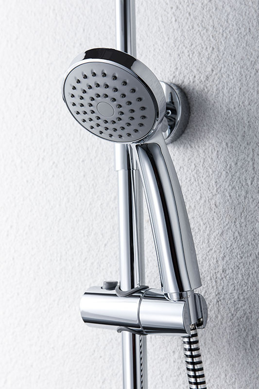 Economic Bath Shower Set Three Spout Function Wall Mounted Shower Bar
