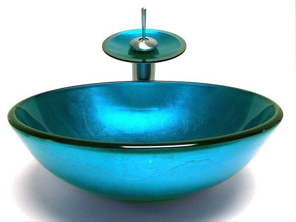 Fontana Victory Glass Bowl,Bathroom Sink Installation