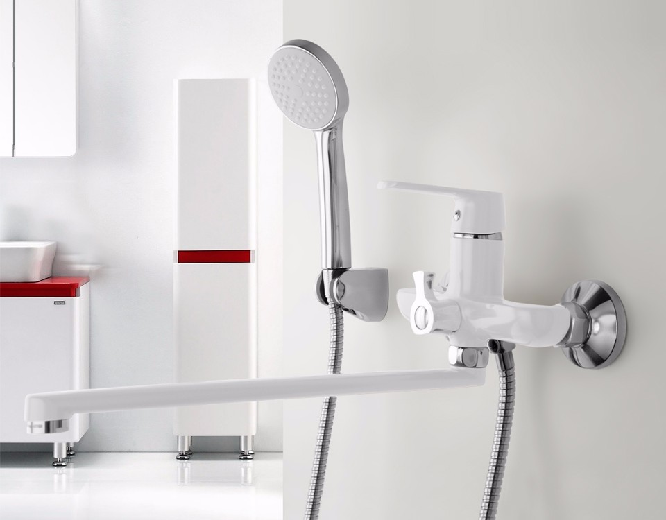 Agrigento Brass Single Handle Bath And Shower Faucet