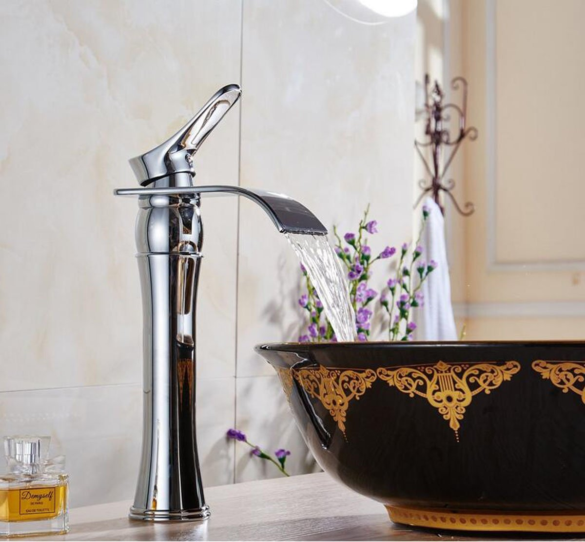 Alajuela is an exquisite bathroom faucet with a height of 10.2 inches, so  it can fit both regular sinks and bowl sinks. It comes in chrome finish and  the ...