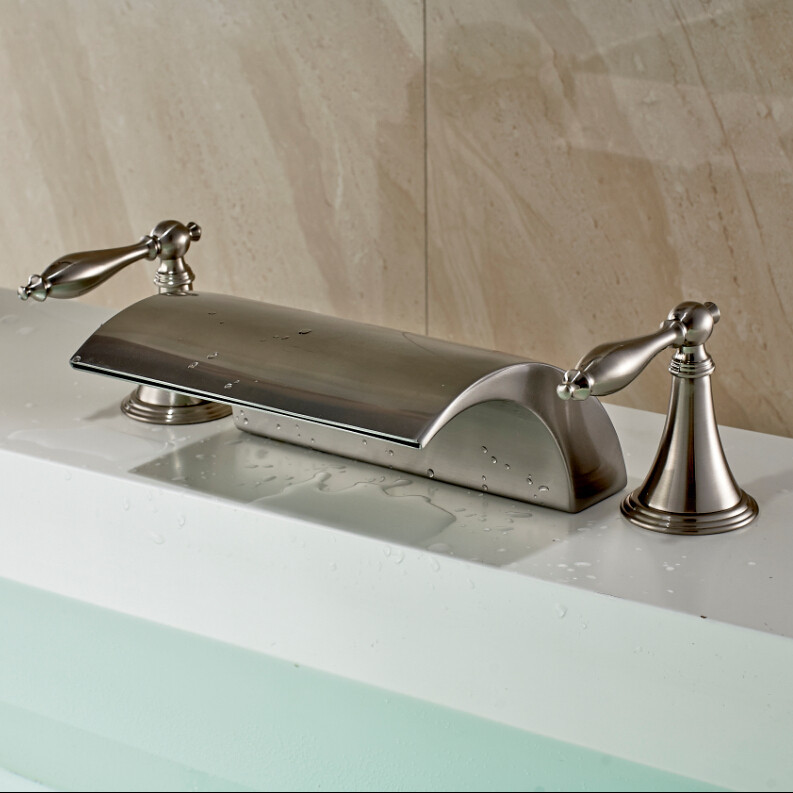 savings on season nickel the faucets shop kitchen with polished modern pull faucet down rohl spray for tis