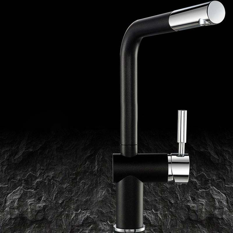 Basilicata Single Handle Brass Deck Mounted Kitchen Faucet