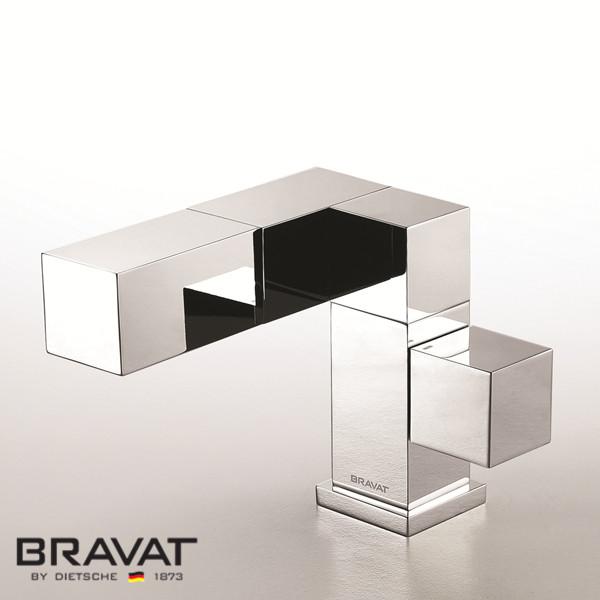 Bravat Contemp Chrome Plated Polished Faucet