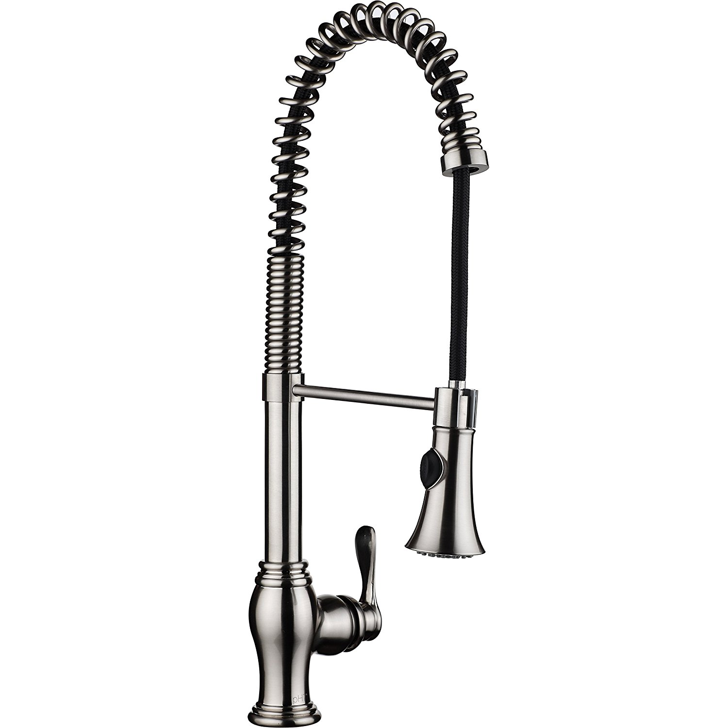 single handle pull down kitchen faucet campania single handle kitchen sink faucet with pull 27459