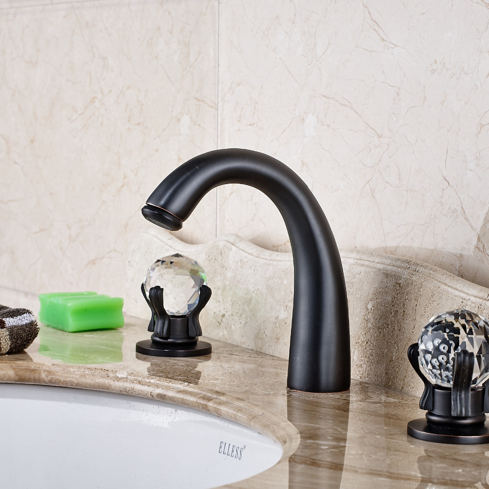 Chloé Oil Rubbed Bronze Bath Sink Faucet
