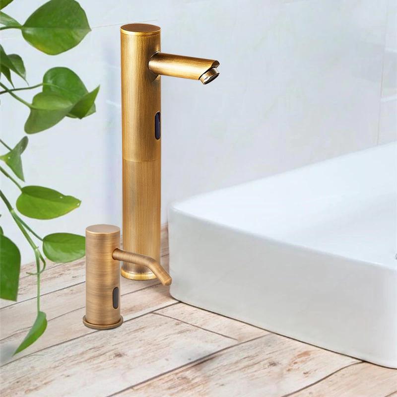 Fontana Gold Commercial Automatic Motion Sensor Faucet