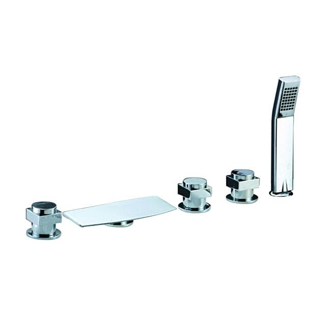 Fontana Chrome Waterfall Bathtub Faucet System