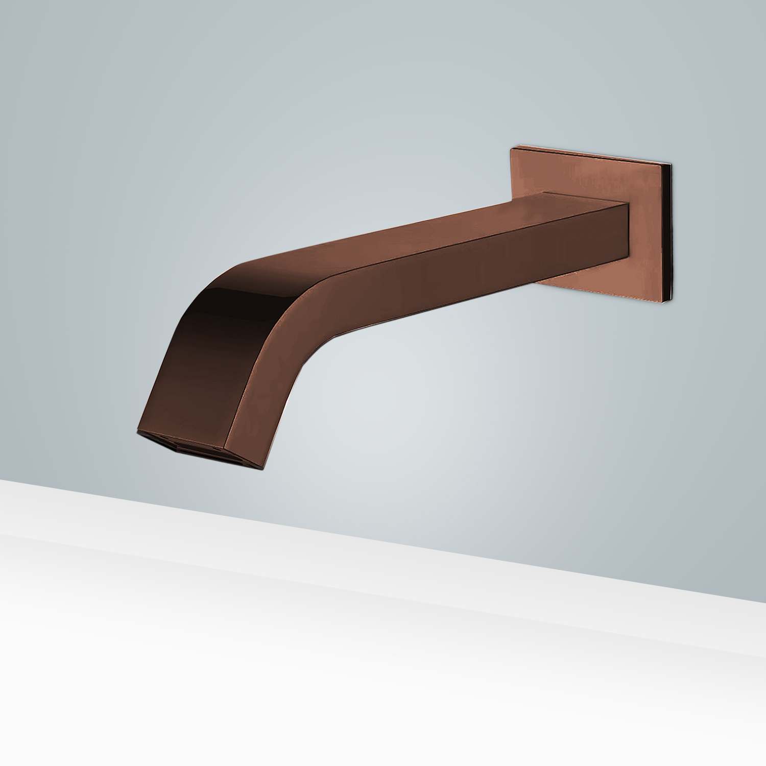 Fontana Light Oil Rubbed Bronze Wall Mount Commercial Automatic Sensor Faucet with Insight Infrared Technology