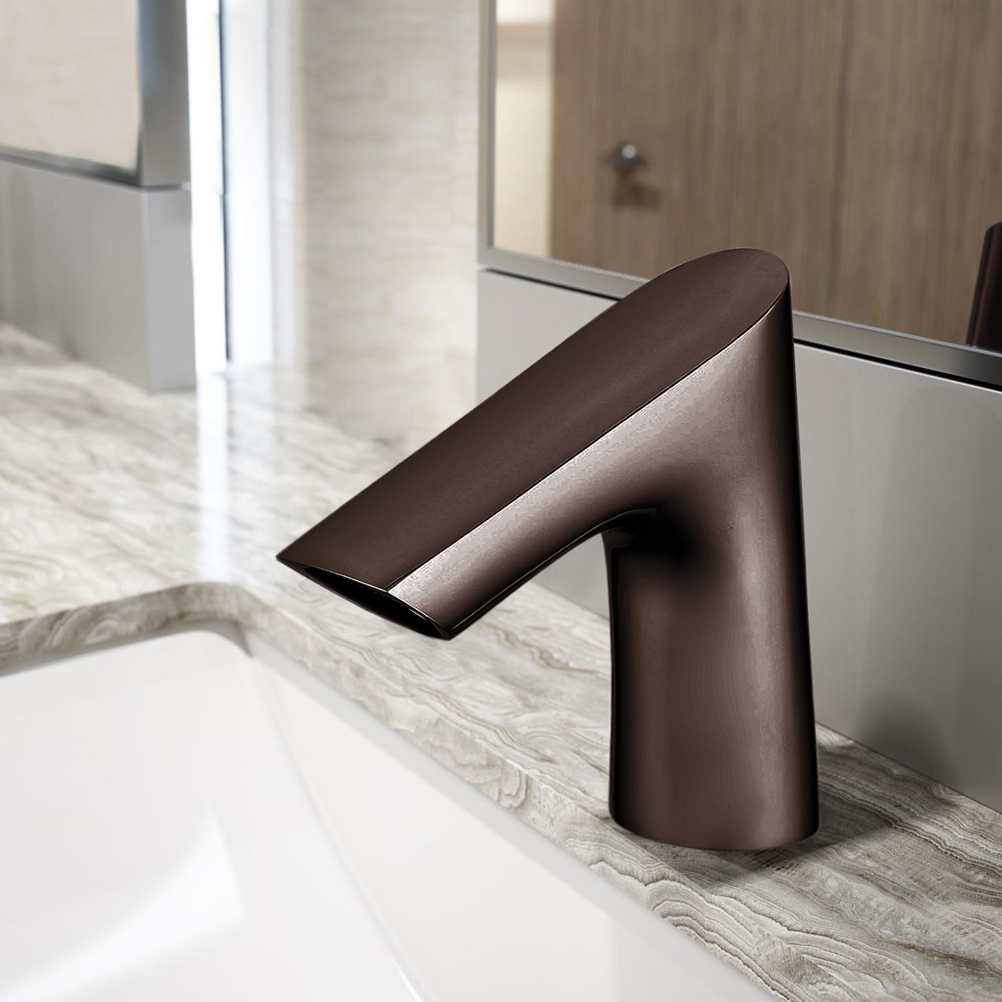 Fontana Commercial Light Oil Rubbed Bronze Touch less Automatic Sensor Faucet