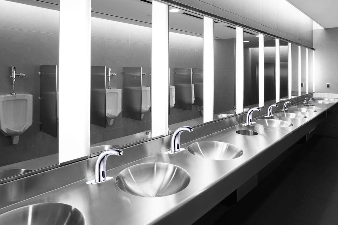 Fontana Lano Chrome Commercial Automatic Faucet