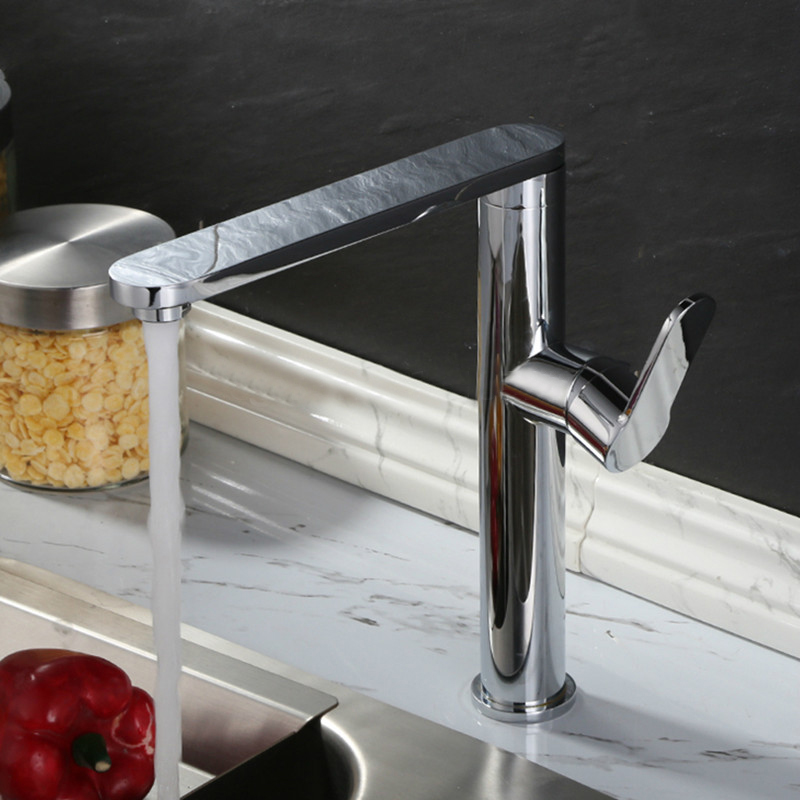 Grassi Deck Mounted Chrome Single Handle Bathroom Faucet - How to install a single handle bathroom faucet
