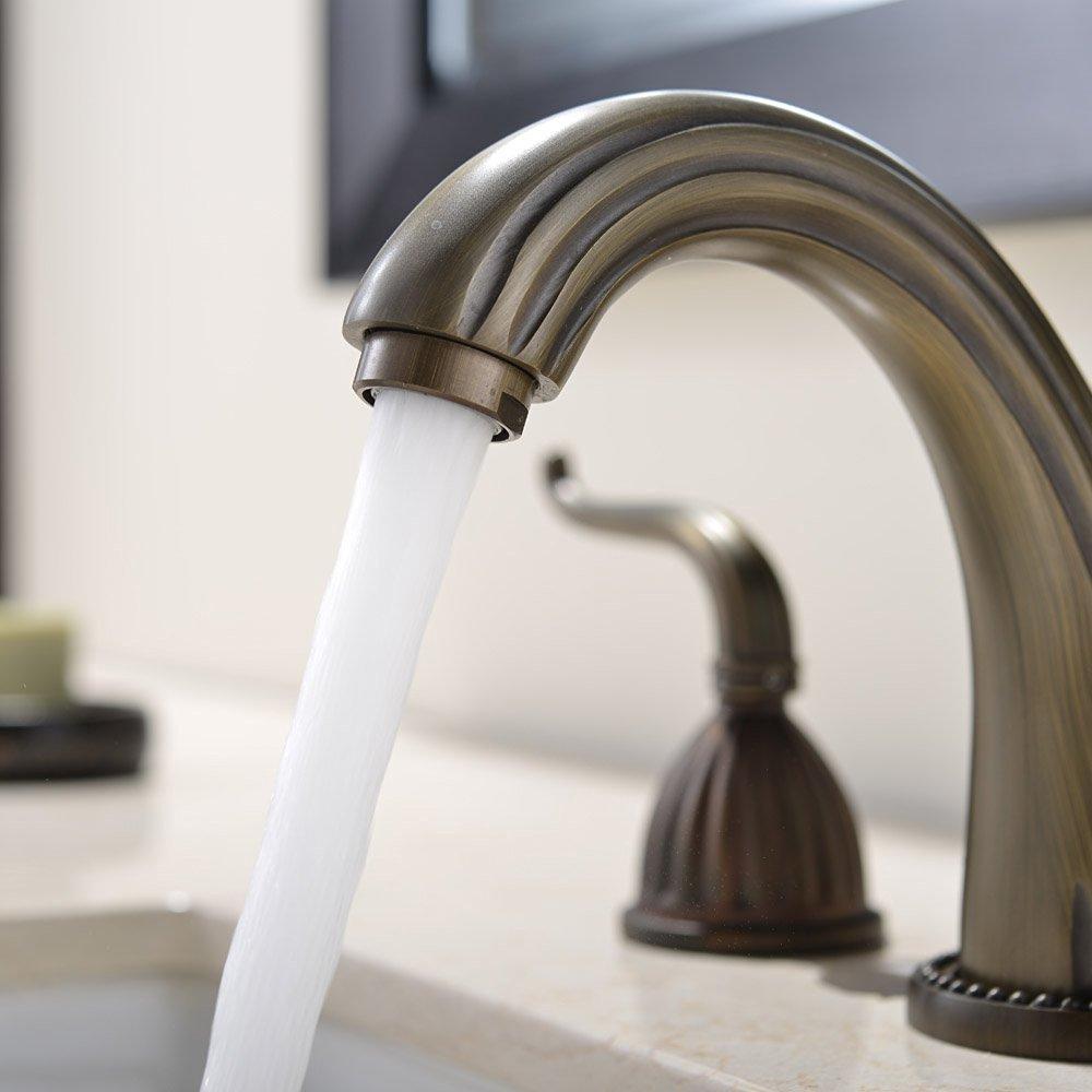 ... Guelma Antique Brass Bathroom Sink Faucet ...