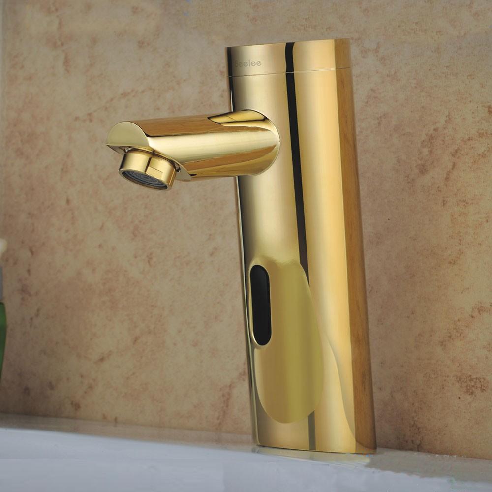 Kios Gold Finish Infrared Motion Sensor Faucet