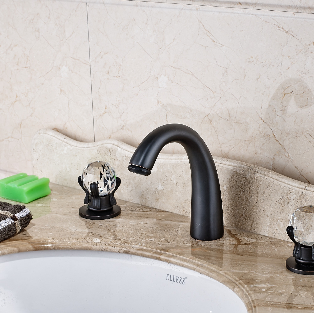 L'Aquila Oil Rubbed Bronze Bathroom Sink Faucet