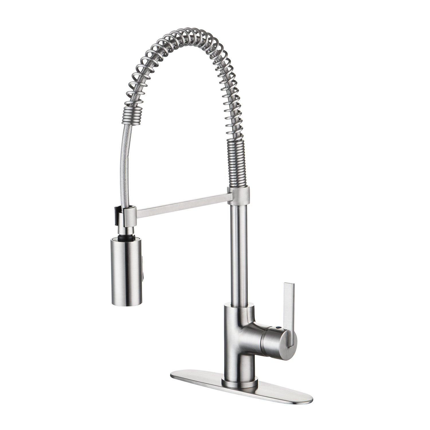 Lazio Single Handle Kitchen Faucet with Pull Down Sprayer
