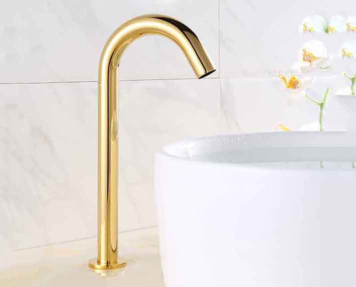 Kitchen faucet stainless steel automatic stainless steel kitchen equipment stainless steel - Automatic kitchen faucet ...