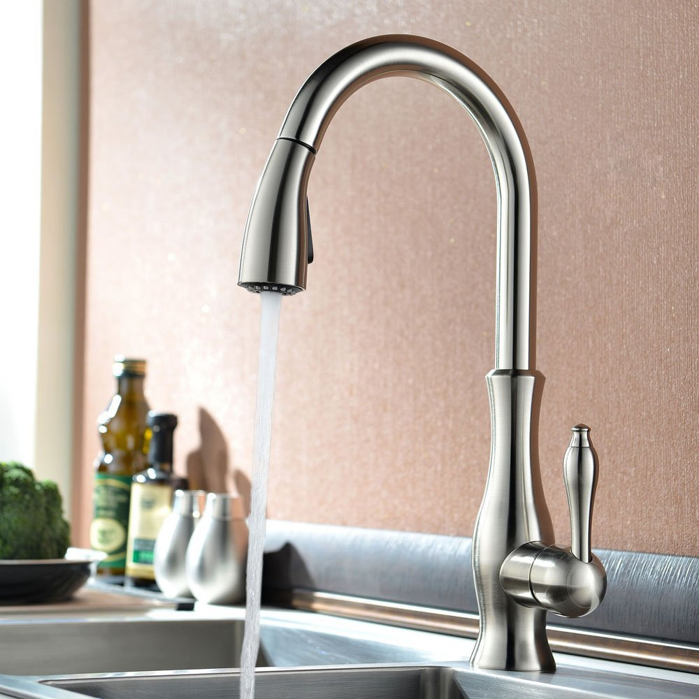 Moravia deck mounted kitchen sink faucet with pull down spray moravia deck mounted kitchen sink faucet installation manual workwithnaturefo
