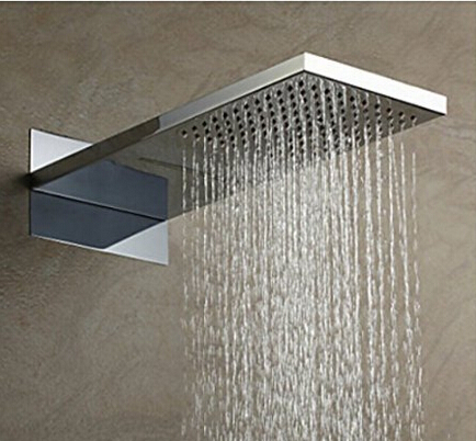 Oruro Chrome Finish Shower Panel Set ...