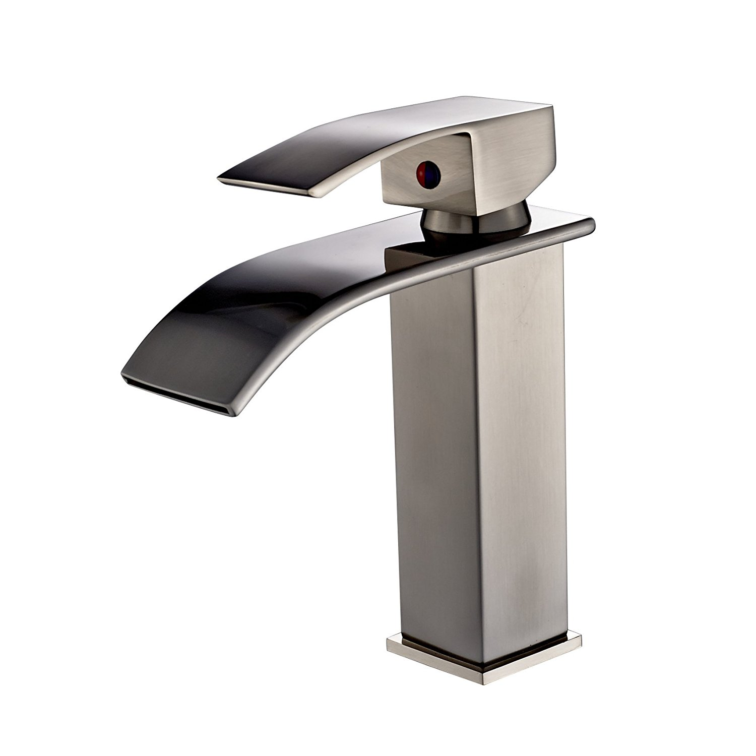 Deck Mounted Single Handle Bathroom Sink Faucet