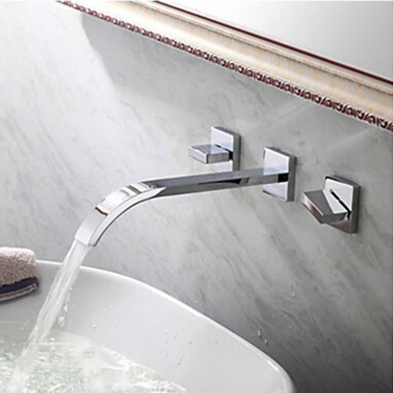 32 Sale Wall Mounted Chrome Bathroom Sink Faucet At Fontanashowers Com