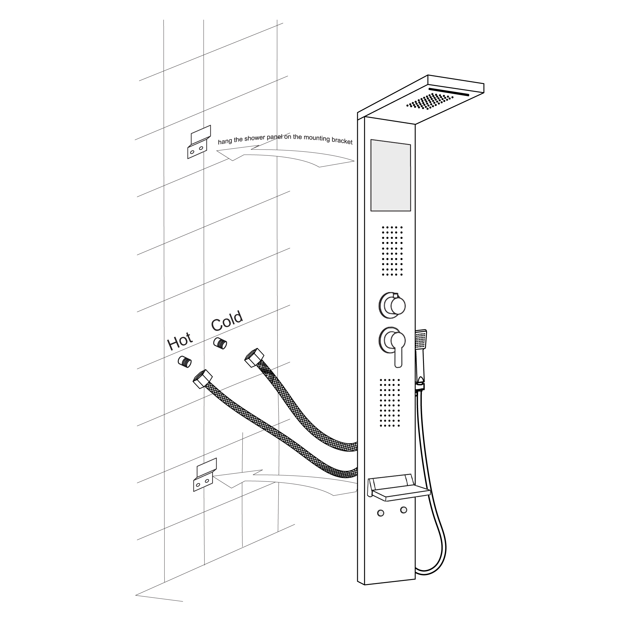 Shower-Panel-Installation-Instructions