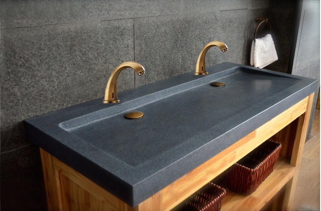 Venice Bronze Finish Bathroom Antique Automatic Motion Sensor faucet
