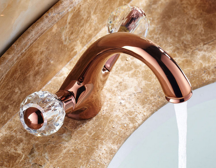basin-faucet-dual-handles-rose-gold-plated