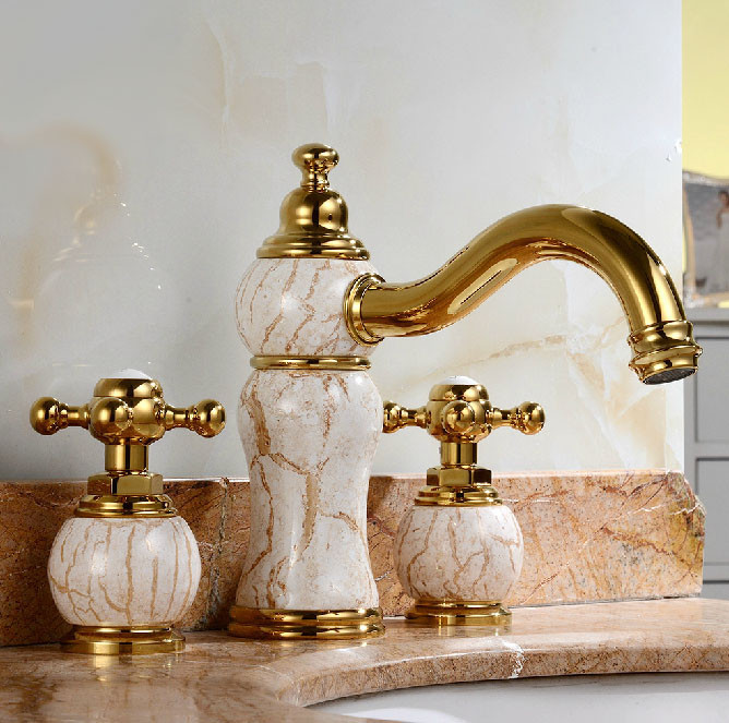 Leo-sink-faucet-jade-gold-finish