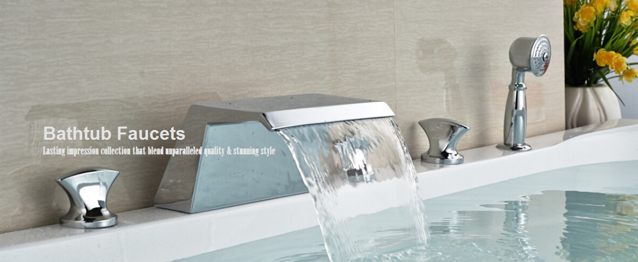 Bathtub Faucets | Waterfall Bathtub Faucets