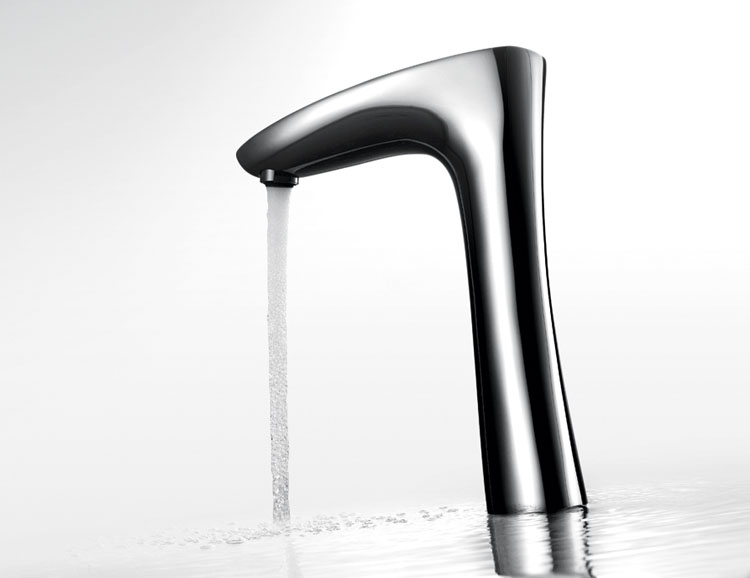 Commercial Automatic Cutting-Edge Intelligent Digital Touch Faucet