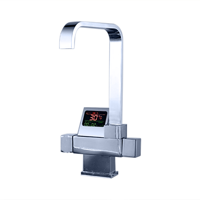Eclipse Digital Display Waterfall Faucet for Bathroom and Kitchen