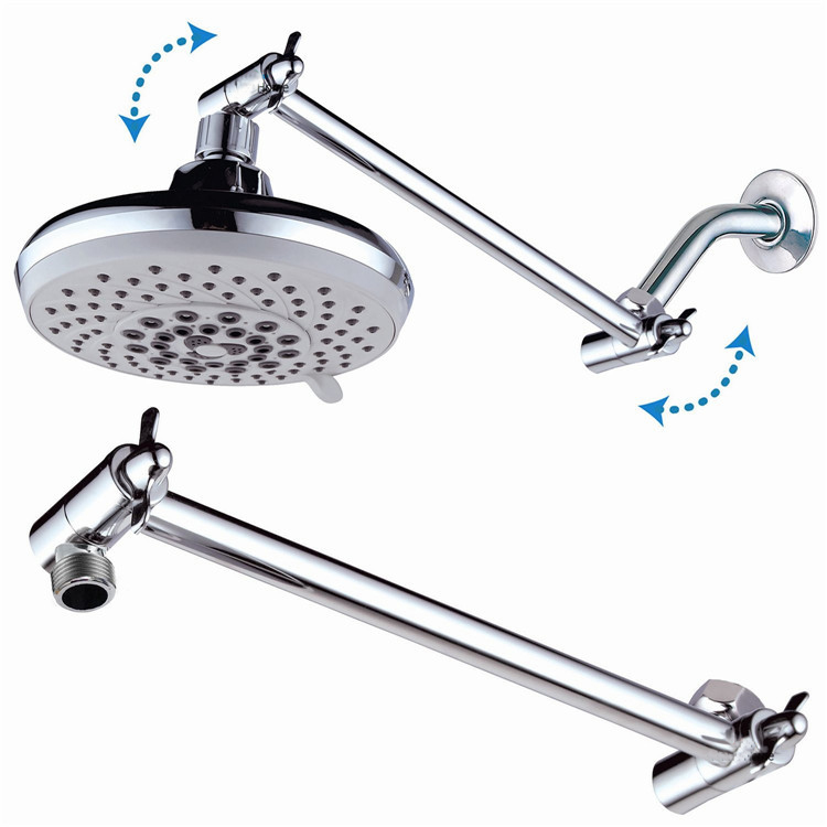 Wonderful E Pak New 9inch Adjustable Height Shower Arm ...