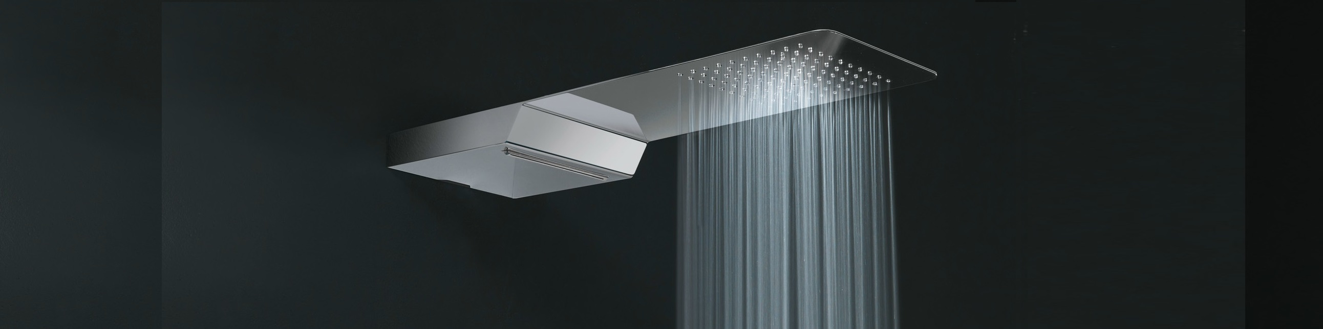 Waterfall Rainfall Showerheads