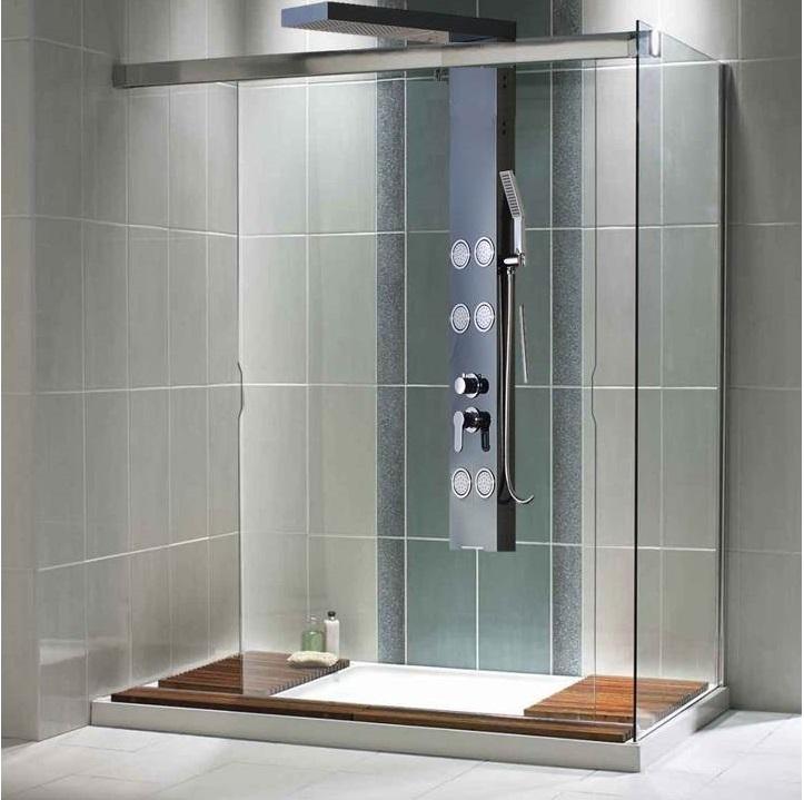 Shower Bath Panel Fitting Instructions P Shaped Shower Bath
