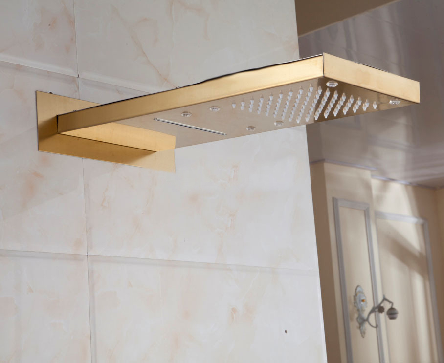 gold-plate-shower-head-solid-brass