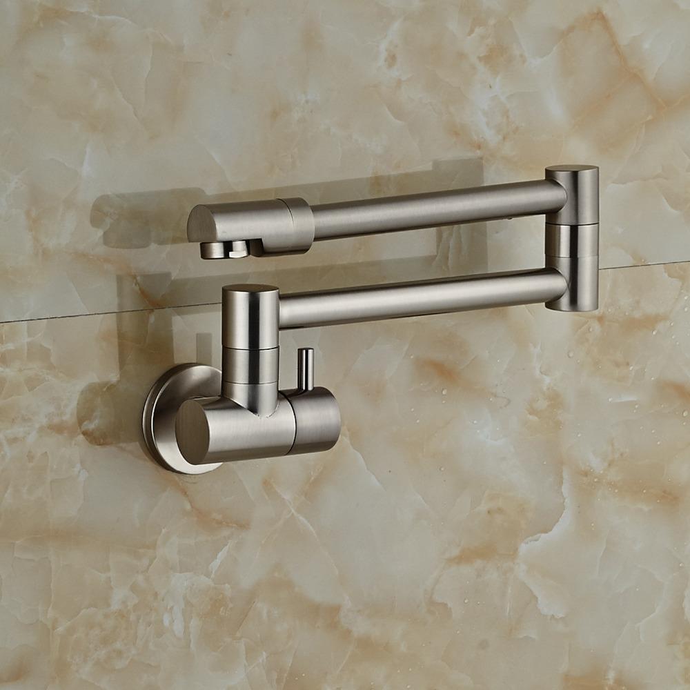 Fontana Faucets Brushed Nickel Wall Mount Bathtub
