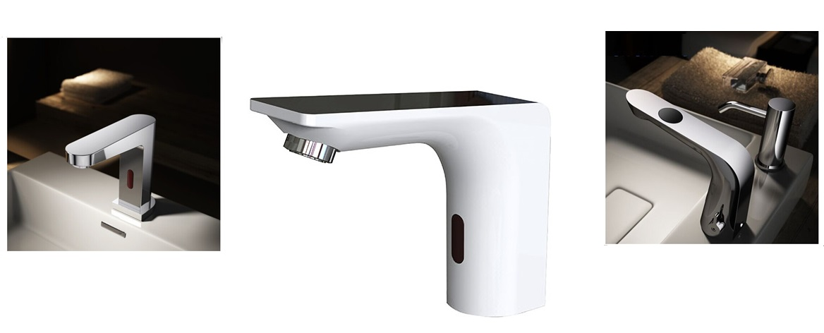 Sensor Faucets Sink Sensor Faucets Bathroom Faucets - Commercial bathroom faucets touchless
