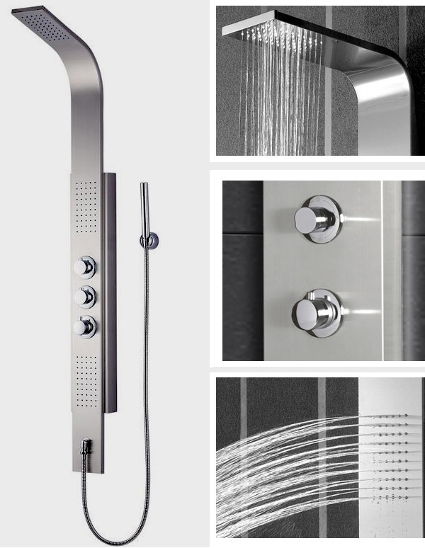 The Durable Versatility Of Thermostatic Shower Panels