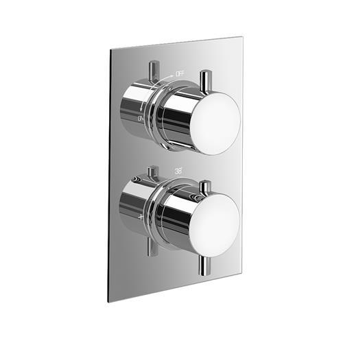 round-wall-mounted-thermostatic-mixer-chrome