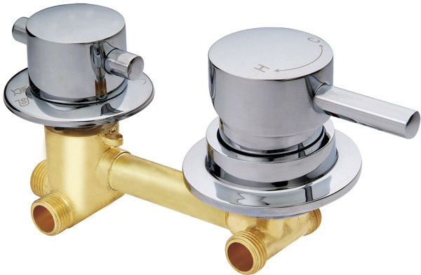Shower Mixer 2/3/4/5 way Shower Mixing Valve Cold and Hot Water ...