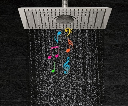 Fontana Bluetooth Shower 3 Functions Thermostatic Mixer Shower Set