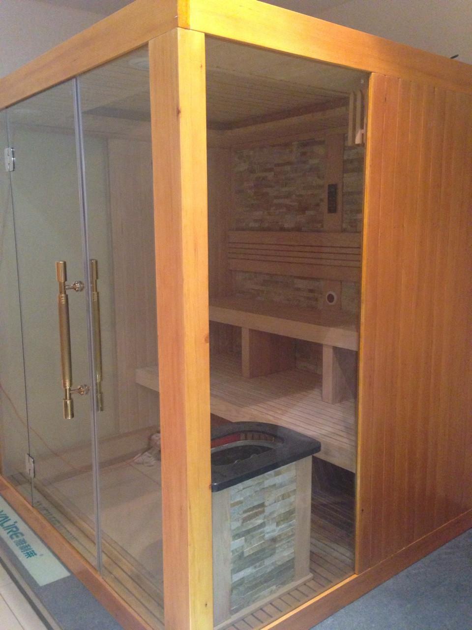 ... Steam Sauna Room Stone Back ...
