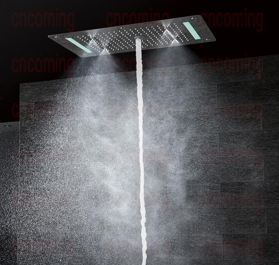 Shower Set 5 Functions Thermostatic Mixer With 700x380 Led