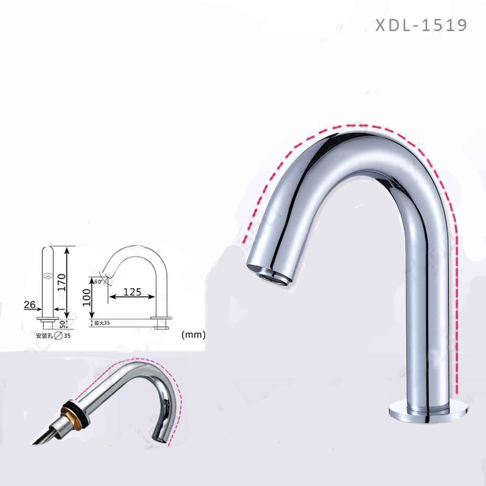 Brio Touchless Volume Sensor Hands Free Faucet