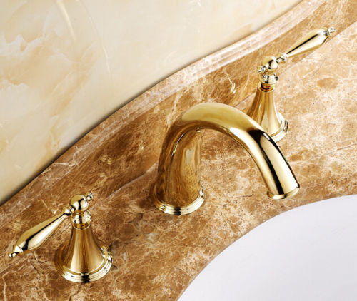 widespread-bath-sink-faucet-gold-finish