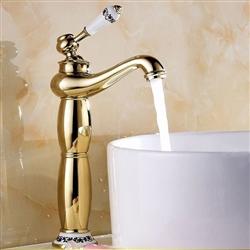 Tivoli Vessel Sink Faucet Gold Finish
